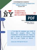 Conférence ESSTIC - Marketing territorial et développement local
