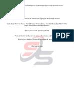 Identificacion del Proceso del Software para el proyecto de desarrollo en curso