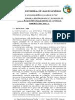 PLAN DE  VIGILANCIA EPIDEMIOLOGICA Y BUSQUEDA DE CASOS DE LEHISMANIASIS DISTRITO DE TAPYRIHUA COMUNIDAD DE SOCCO