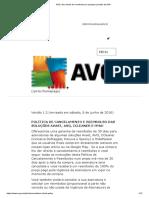 AVG _ Seu direito de reembolso por qualquer produto da AVG