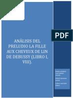Análisis La fille aux Claude Debussy