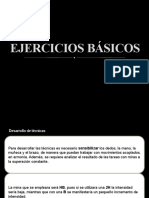 EJERCICIOS BÁSICOS