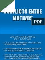 3- CONFLICTO ENTRE MOTIVOS -  alumnos