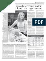 Cogumelos - Valor nutricional