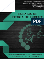 Livro Eletrônico ENSAIOS DE TEORIA DO DIREITO ISBN