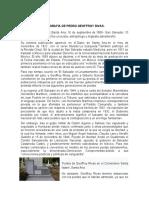 BIOGRAFIA DE PEDRO GEOFFROY RIVAS