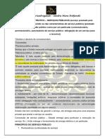 Direito Administrativo - Serviço Público