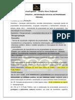 Direito Administrativo - Intervenção Estatal
