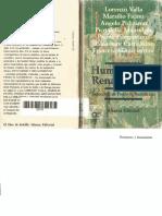 Pedro R. Santidrián - Humanismo y Renacimiento (antología)-Alianza Editorial (1986).pdf