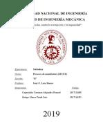 Informe Soldadura