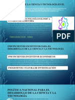 DESARROLLO DE LA CIENCIA Y TECNOLOGÍA EN EL