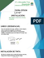 impresora Epson l3110 instalación