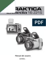 Camara Praktica luxmedia 16-Z21S (Usuario)