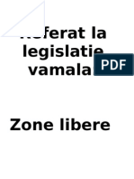 Referat - Dr Vamal - Zone libere