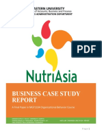 Case Study on NutriAsia