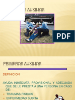 PRIMEROS AUXILIOS GOS SA