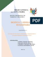 4. ESTUDIO DE UN CASO E INSPECCION A ESTBLECIMIENTOS FARMACEUTICOS