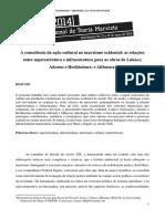A consciência da ação cultural no marxismo ocidental.pdf