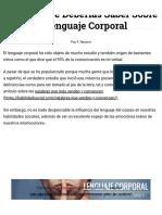 Lenguaje Corporal_ Todo Lo Que Deberías Saber.pdf