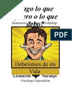 seminario debeísmo