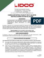 Split+Sleeve install instructions SPANISH