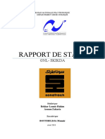 Rapport de stage Aout 2018 Skikda