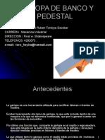 GARLOPA DE BANCO Y PEDESTAL.ppt