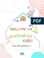 Diário de quarentena Kids - Papernow