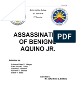 ASSASSINATION OF BENIGNO AQUINO JR final