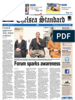 The Chelesa Standard front page Jan. 20, 2011