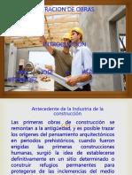 ANTECEDENTES DE LA CONSTRUCCION