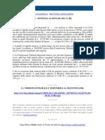 Fisco e Diritto - Corte Di Cassazione n 802 2011