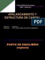 12 APALANCAMIENTO Y ESTRUCTURA DE CAPITAL