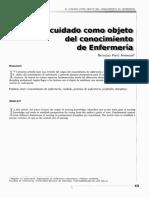 El cuidado como objeto del conocimiento de enfermeria.pdf