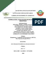 Maquinarias y Condiciones del Área proceso (ARCSA) para qel proceso de queso fresco.docx