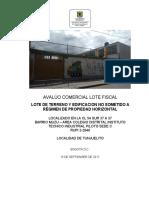 Avaluo Rupi 2-2046 Lote Fiscal Colegio Piloto Sede C