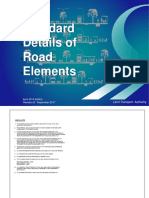 LTA Standard Details of Road Elements