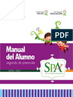 Manual del Alumno - Segundo de Preescolar