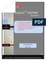 6th class History