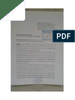 Escrito a La DRELP Huaringa de Huarochiri