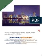 9 Overview of Macroeconomics