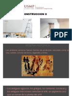 PINTURAS EN LA CONSTRUCCION DE EDIFICACIONES