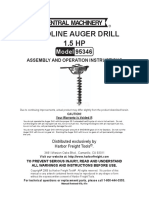Auger Drill