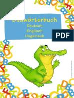 Bildwörterbuch. Deutsch Englisch Ungarisch. Compact Verlag GmbH München