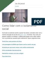 Como lidar com o isolamento social.pdf