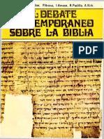 1972 El debate contemporaneo sobre la Biblia - FTL