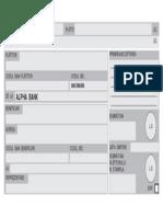 Model Ordin de Plata Personalizat Alphabank