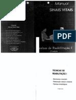 Manual Sinais Vitais - Tecnicas de Reabilitação I