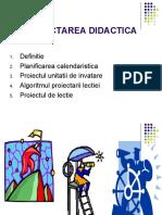 7. Proiectarea didactica