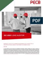 Programme Lead Auditor ISO 45001 Qualinour - PECB